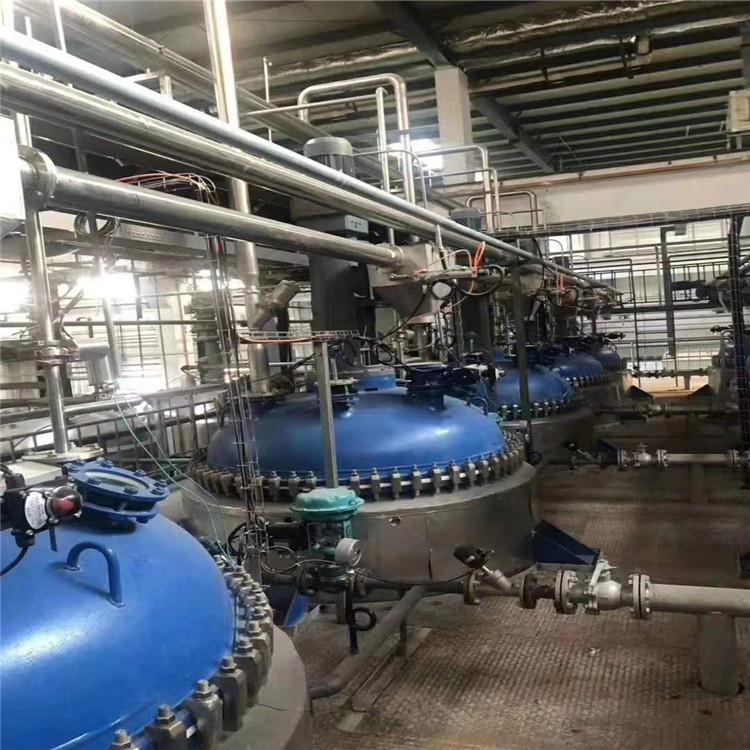拆除回收化工厂设备 西甲篮球直播电加热反应釜